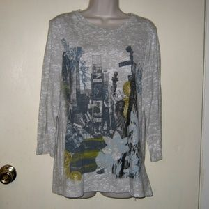 Tops - New York Graphic Tee Shirt XL inv3105